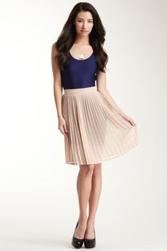 Chiffon Pleated Skirt