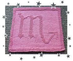 Scoripo Zodiac Symbols, Capricorn, Squares, Knitting Patterns, Blanket, Crochet, How To Make, Bags, Handbags