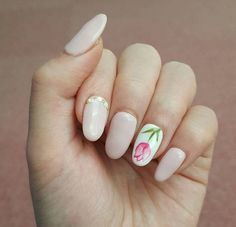 Tulip Nails Mean That Spring Has Sprung