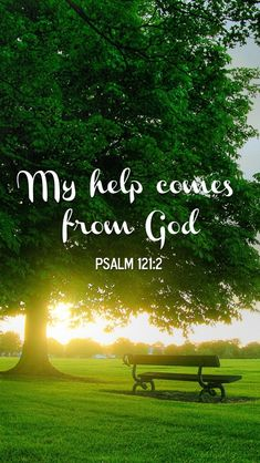 God will always help us. He's only a prayer away.