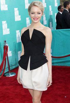 Emma Stone #celebrity #style #outfit