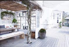 Outdoor Spaces, Outdoor Living, Outdoor Decor, Gazebo, Villa, White Cottage, Home Upgrades, Scandinavian Home, Interior Exterior