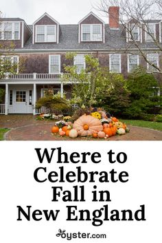 Fall can be magical in many places, but it's especially charming in New England. The trees turn a fiery array of reds, oranges, and yellows, the grass smells fresh, and the coastal breeze feels calming. Beyond that, several New England towns celebrate autumn with festivals, food, fairs, and other seasonal events, too. Here, we compiled a list of the top spots to ring in the season.