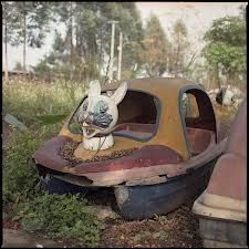 Abandoned Amusement Park in