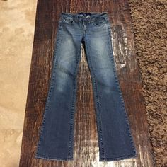 """New listing-straight leg denim jeans Straight leg denim jeans. Tag says 5L. Waist is 28"""", length is 40"""" and inseam is 7 1/2"""" Jeans Straight Leg"""