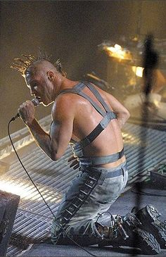 Till Lindemann - Rammstein Mutter Tour 2001-2002 #TillLindemann #Rammstein #Mutter