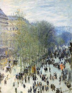 El Boulevard des Capucines, Monet