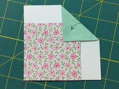 Fold the corner