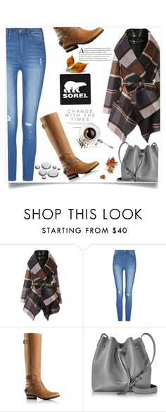 """""""Kick Up the Leaves (Stylishly) With SOREL: CONTEST ENTRY"""" by lilyvega-p ❤ liked on Polyvore featuring Chicwish, SOREL, Lancaster and sorelstyle"""