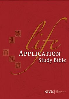 Life Application Study Bible NIV, Tyndale House Publishers