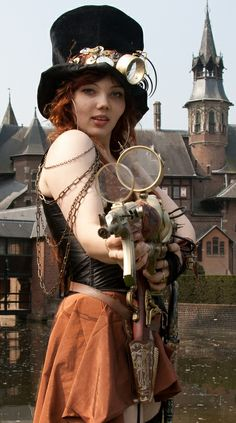 ✿⊱ Steampunk Girl ⊱✿