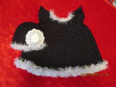 Little Black Dress Collection: Moonlight Magic Angel Wing Pinafore/Dress and Beanie for 3 - 6 Months by WhimseysByAnne on Etsy