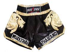 schwarz-gelb Wicked One Muay Thai Shorts Claws