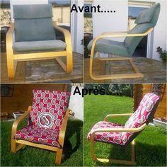 Relooking Fauteuil Ikea A Faire Pour La Chambre De Bb3 Bricolagedecorationafairesoimeme Chair Makeover Upcycle Chair Diy Dream Home
