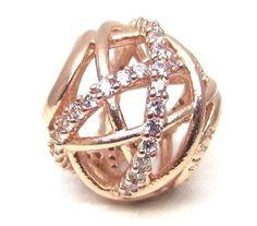 Autumn 2015 Pandora Rose Gold Galaxy charm Bead Concept Stores ONLY 781388CZ #pandora