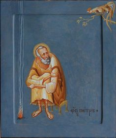 Unique icon of Saint Peter Religious Images, Religious Icons, Religious Art, Byzantine Icons, Byzantine Art, Bible Art, Book Art, Christian Artwork, Religion Catolica