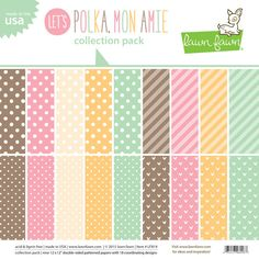 let's polka, mon amie collection pack