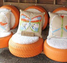 Una docena de ideas para construir muebles de terraza o jardín con materiales reciclados