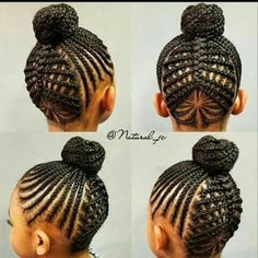 short girl hairstyles for older women pins# 940 Lil Girl Hairstyles, Natural Hairstyles For Kids, Kids Braided Hairstyles, African Braids Hairstyles, My Hairstyle, Creative Hairstyles, Natural Hair Styles, Children Hairstyles, Natural Updo