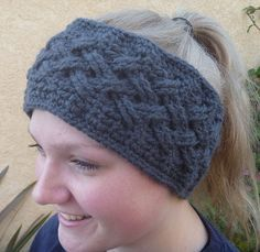 Steel Gray Headband