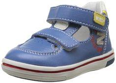 NOENE - RYWAN Mini Marcus 1y136142 - Zapatillas de cuero para bebé niño, color azul, talla 25