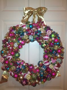 Ornament Wreaths For Sale! With hundreds of ornaments, the wreaths can be made in sizes of 12 in., 16 in., 18 in.. The finished product adds about 3-4 inches to the total. Orders are being taken now for Christmas, New Years, Valentines Day and Easter. They can be custom made to your favorite colors and themes! Contact Mollie Britton mobritton@triad.rr.com