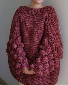 Artesanatos: Faça e Venda: Lindo ponto em tricô para blusas de frio
