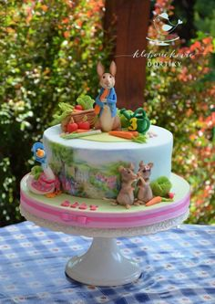 Beatrix Potter Cake Art