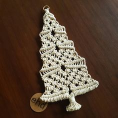 Not too late to order for Christmas! Express postage upgrade available for most listings. Macrame Knots, Micro Macrame, Macrame Jewelry, Yarn Crafts, Diy And Crafts, Modern Macrame, Christmas Crafts, Christmas Ornaments, Xmas