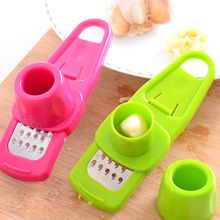 Creative Multi Functional Mini Ginger Garlic Grinding Grater Planer Slicer Cutter Cooking Tool Kitchen Utensils Accessories(China (Mainland))