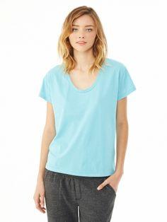 Roadtrip Satin Jersey T-Shirt