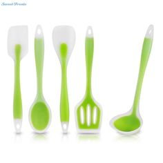 Sweettreats utensils Heat-Resistant Cooking Utensil Set Non-Stick Silicone kitchen utensil set high quality silicone utensil set