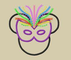 New 2013 Design  INSTANT DOWNLOAD  Mardi Gras by glitzystitches, $3.75