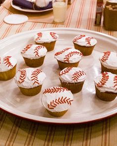 Baseball Birthday Party - Baseball, a beloved pastime of both children and adults, has a timeless quality and makes a fun theme for a summer birthday.