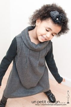 Un Petit Design: Inspired By: Little Grey Dress via Pinterest (plus a gift for you!)