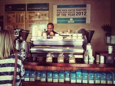 One of favorite coffee places, thanks to my Uncle David! ;-)