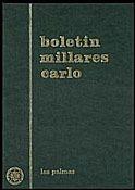 Agustín Millares Carlo y la primera guerra mundial en dos textos. Antonio Henríquez Jiménez.  Boletín Millares Carlo, ISSN 0211-2140, Nº. 27, 2008 , págs. 11-15.