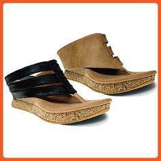 be931794ce0 Modzori Sabra Women s Mid Wedge Reversible Twister Sandal (6 M US
