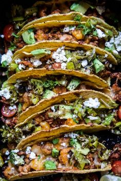 Al Pastor Baked Chicken Tacos with Shishito Pepper Salsa is an easy, cheesy meal ready in 30 minutes! Perfectly baked chicken tacos topped with a spicy shishito pepper salsa. Cheesy Recipes, Beef Recipes, Mexican Food Recipes, Whole Food Recipes, Chicken Recipes, Cooking Recipes, Ethnic Recipes, Pepper Recipes, Mexican Dishes