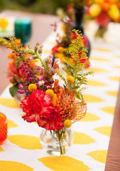 lovely bright colours | photo by Katie Nesbitt  | 100 Layer Cake