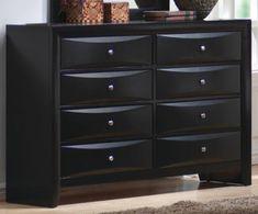 Black Glass Dresser | Black Dresser | Pinterest | Bedroom dressers ...