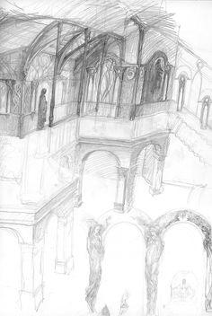 alan_lee_the lord of the rings_sketchbook_04_rivendell05.jpg (1070×1600)