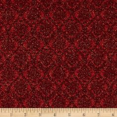 Peace on Earth Scrolls Red from @fabricdotcom  Designed by Ro Gregg for Paintbrush Studios for Fabri-Quilt, this cotton print fabric is perfect for quilting, apparel and home decor accents. Colors include shades of red with metallic gold accents.