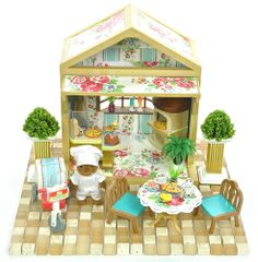 *fistuff* Sylvanian Families Cath Kidston Decorated House/Restaurant + Lots