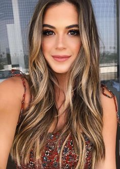 38 Best Balayage Hair Color Ideas for 2019 - Style My Hairs Brown Blonde Hair, Brunette Hair, Blonde Honey, Brunette Color, Black Hair, Hair Color And Cut, Cool Hair Color, Hipster Hair Color, Hair Color Green Eyes