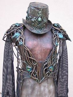 Steampunk elvish armour!