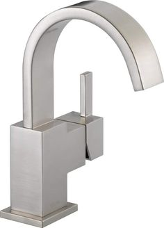 View the Delta 553LF Vero Single Hole Bathroom Faucet with Pop-Up Drain Assembly - Includes Lifetime Warranty at FaucetDirect.com.