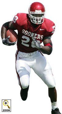 Oklahoma Sooner Great Adrian Peterson