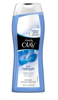 OMG! I HAVE FOUND IT! This body wash smells just like DOLCE and GABBANA LIGHT BLUE, but the smell lasts way longer on your skin for 1/10 of the price!!! Olay Simply Refresh Rainforest Flower Body Wash