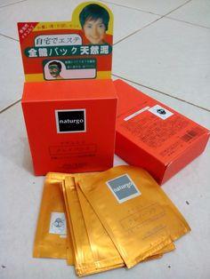 Masker Lumpur Naturgo Rp 35.000/kotak